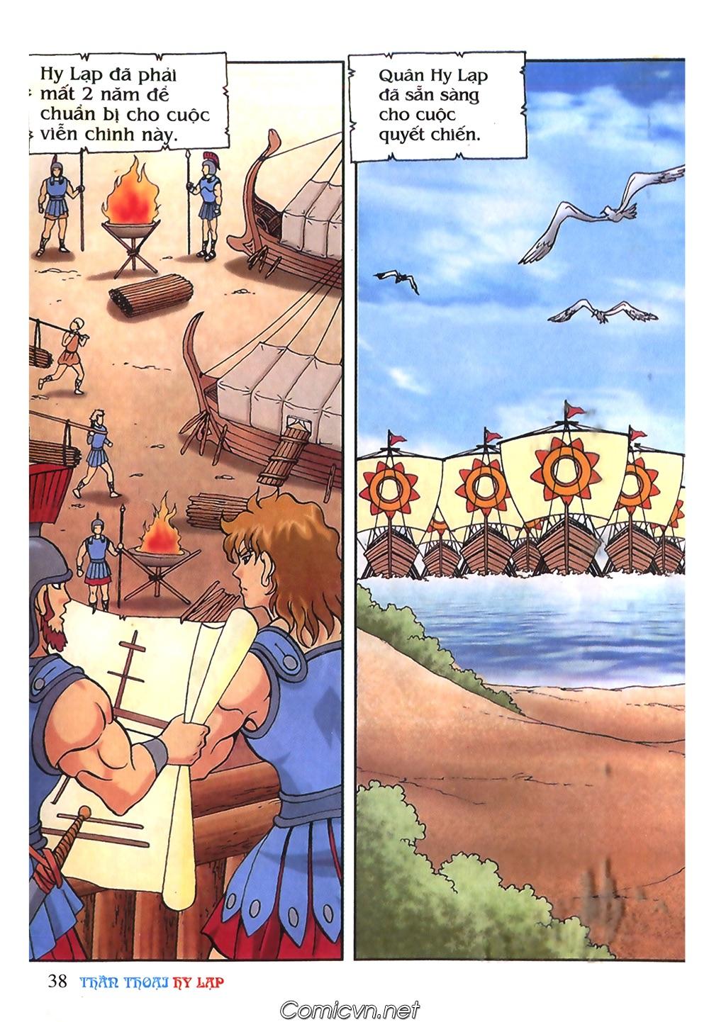 Thần Thoại Hy Lạp Màu - Chapter 53: Trước giờ xung trận - Pic 2
