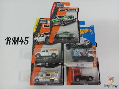 Hot Wheels and Matchbox Truck Lorry Lot