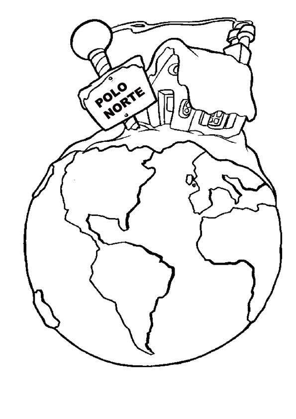 Resultado de imagen de dibujos del polo norte