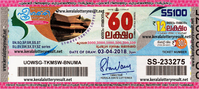 kerala lottery 03/04/2018, kerala lottery result 203.04.2018, kerala lottery results 3-04-2018, sthree sakthi lottery SS 100 results 03-04-2018,   sthree sakthi lottery SS 100, live sthree sakthi lottery SS-100, sthree sakthi lottery, kerala lottery today result sthree sakthi, sthree sakthi lottery   (SS-100) 03/04/2018, SS 100, SS 100, sthree sakthi lottery SS100, sthree sakthi lottery 03.4.2018, kerala lottery 03.4.2018, kerala lottery result   03-4-2018, kerala lottery result 27-3-2018, kerala lottery result sthree sakthi, sthree sakthi lottery result today, sthree sakthi lottery SS 99,   www.keralalotteryresult.net/2018/04/3 SS-100-live-sthree sakthi-lottery-result-today-kerala-lottery-results, keralagovernment, result, gov.in,   picture, image, images, pics, pictures kerala lottery, kl result, yesterday lottery results, lotteries results, keralalotteries, kerala lottery,   keralalotteryresult, kerala lottery result, kerala lottery result live, kerala lottery today, kerala lottery result today, kerala lottery results today,   today kerala lottery result, sthree sakthi lottery results, kerala lottery result today sthree sakthi, sthree sakthi lottery result, kerala lottery result   sthree sakthi today, kerala lottery sthree sakthi today result, sthree sakthi kerala lottery result, today sthree sakthi lottery result, sthree sakthi   lottery today result, sthree sakthi lottery results today, today kerala lottery result sthree sakthi, kerala lottery results today sthree sakthi, sthree   sakthi lottery today, today lottery result sthree sakthi, sthree sakthi lottery result today, kerala lottery result live, kerala lottery bumper result,   kerala lottery result yesterday, kerala lottery result today, kerala online lottery results, kerala lottery draw, kerala lottery results, kerala state   lottery today, kerala lottare, kerala lottery result, lottery today, kerala lottery today draw result, kerala lottery online purchase, kerala lottery   online buy, buy kerala lottery online