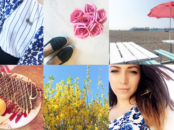 April Through Instagram