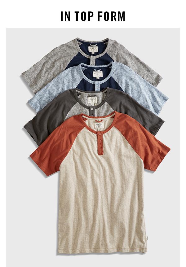 Vintage Raglan Short Sleeve Raglans