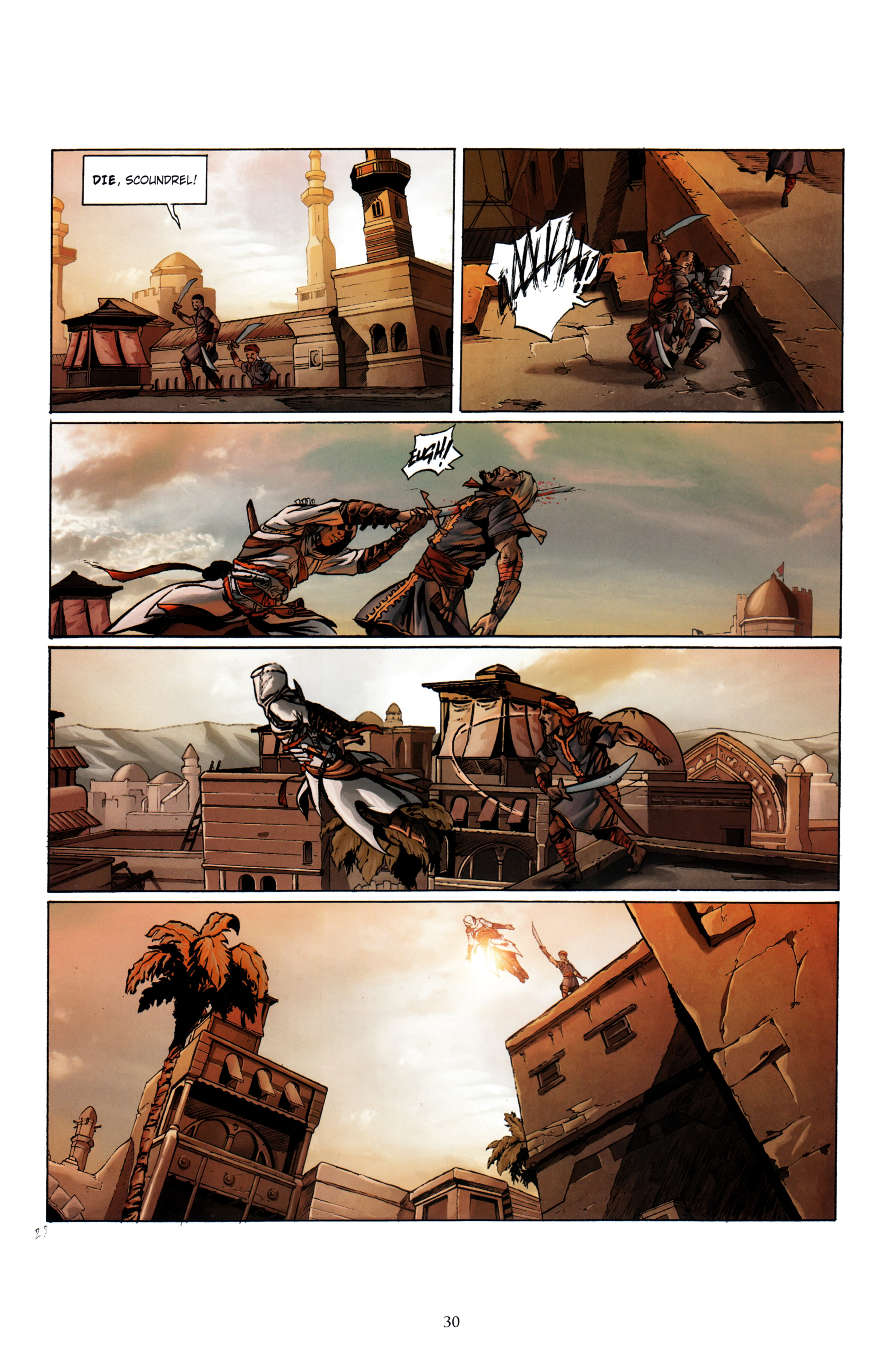Read online Assassin's Creed (2012) comic -  Issue #1 - 34