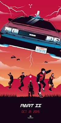 Back to the Future Print Triptych by Rico Jr. x PopCultArt - Part II