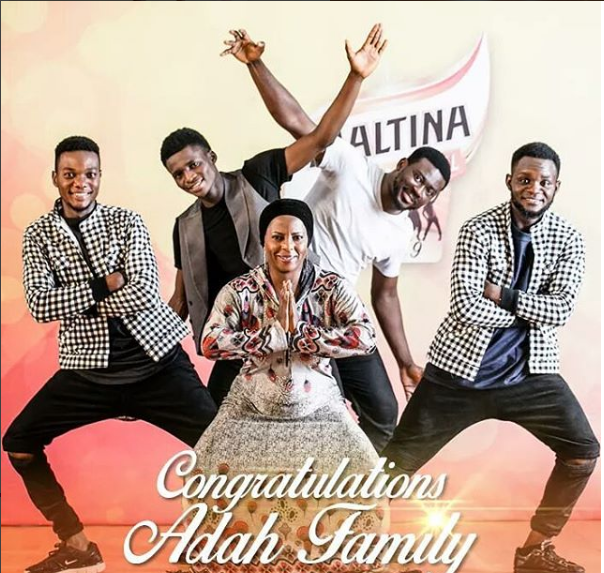 Maltina dance all season 9 winners Adah 's Family