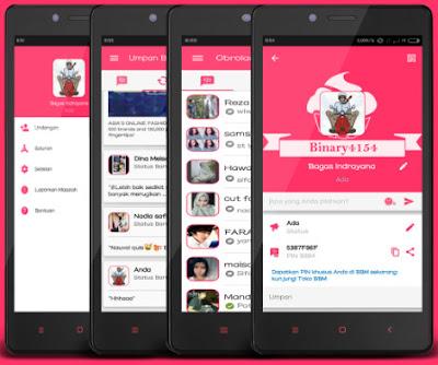 Download BBM Pinky V3.0.0.18 Apk Terbaru