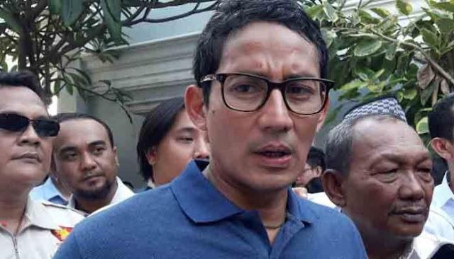 UBN Tersangka, Sandi: Jangan Tajam ke Pengkritik, Tumpul ke Penjilat
