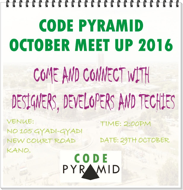 ATTEND CODE PYRAMID DEVELOPERS MEET UP THIS WEEKEND
