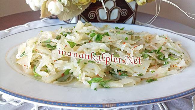 Lahana Turşusundan Salata Yapımı - www.inanankalpler.net