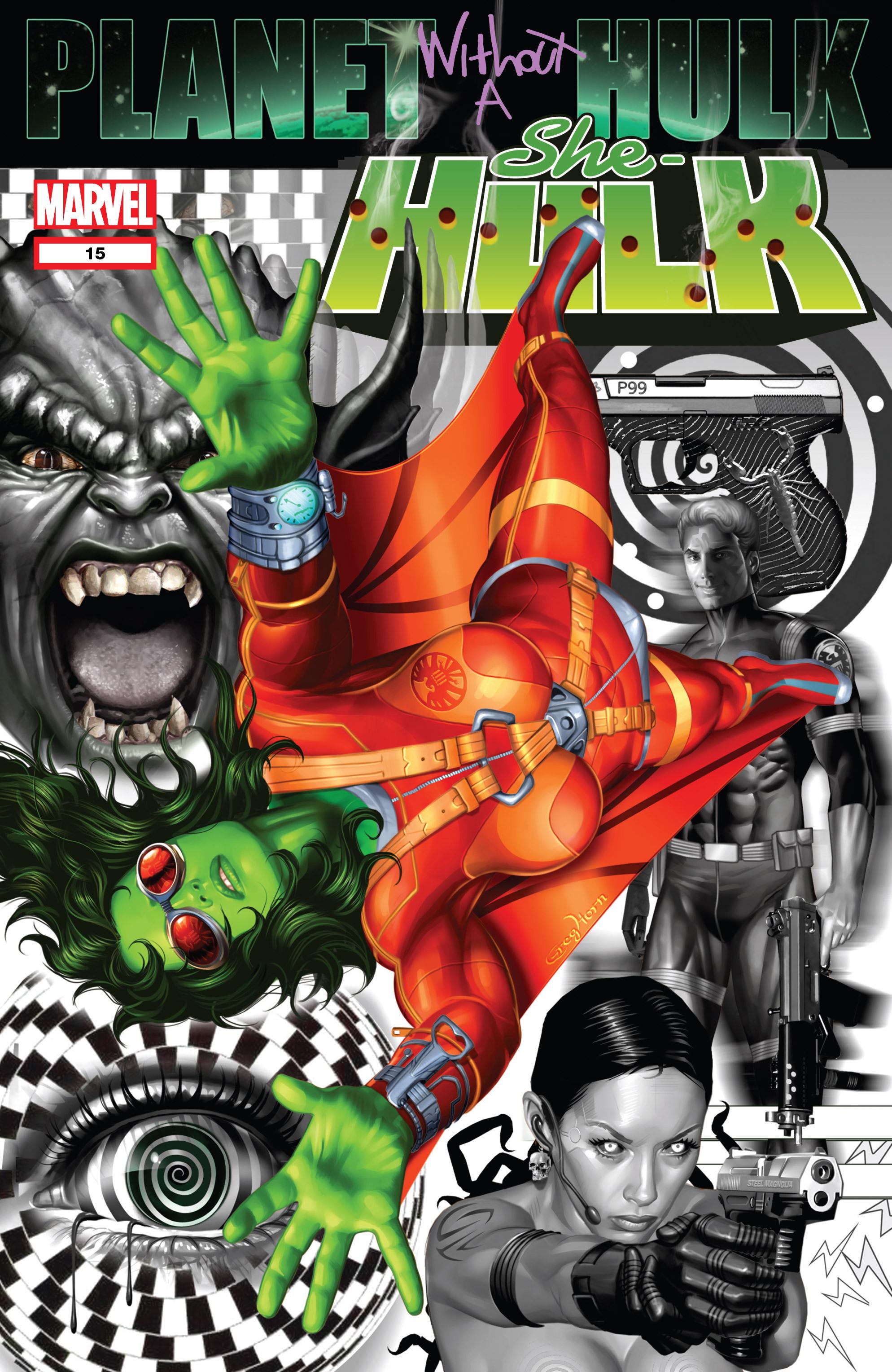 Read online She-Hulk (2005) comic -  Issue #15 - 1