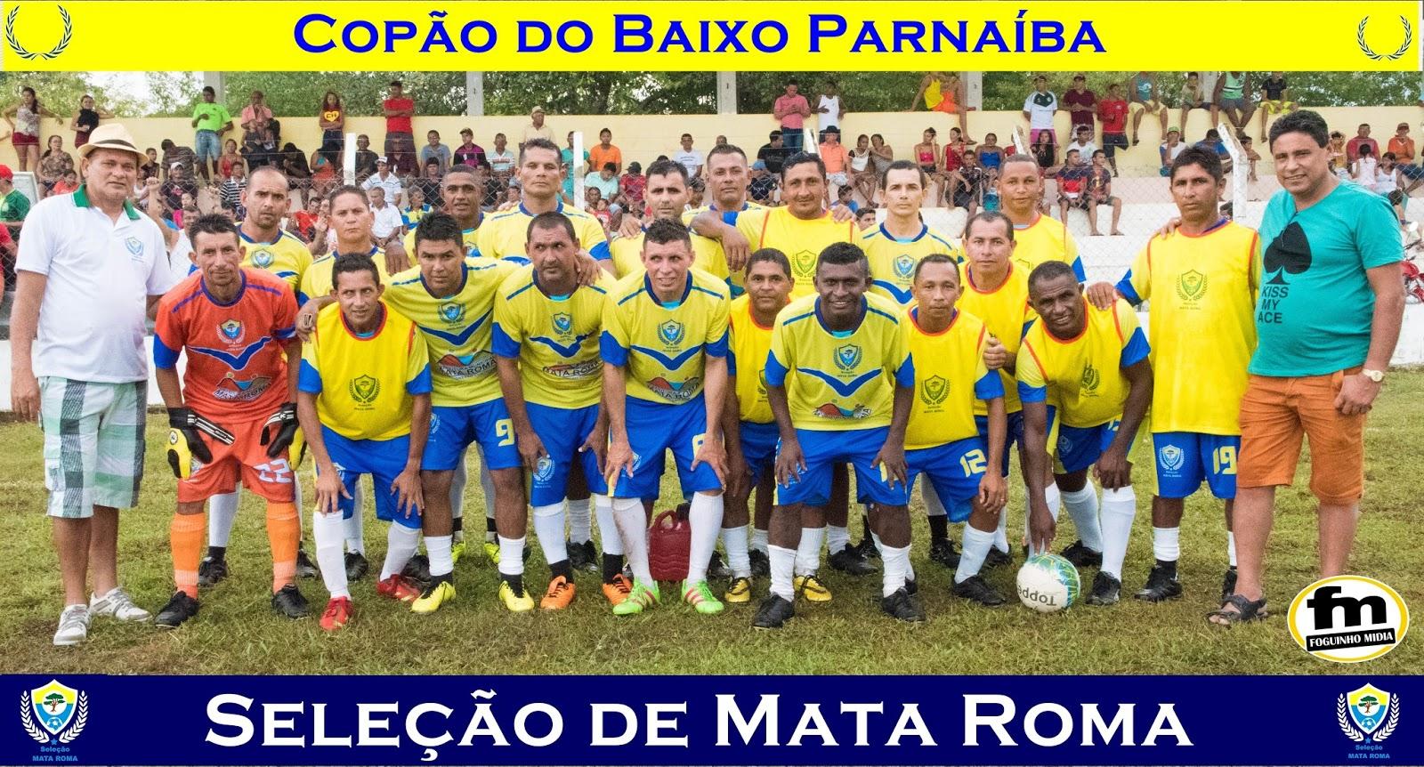 Seleção de Mata Roma vence Seleção de Buriti e se classifica para a segunda fase do Copão do Baixo Parnaíba.