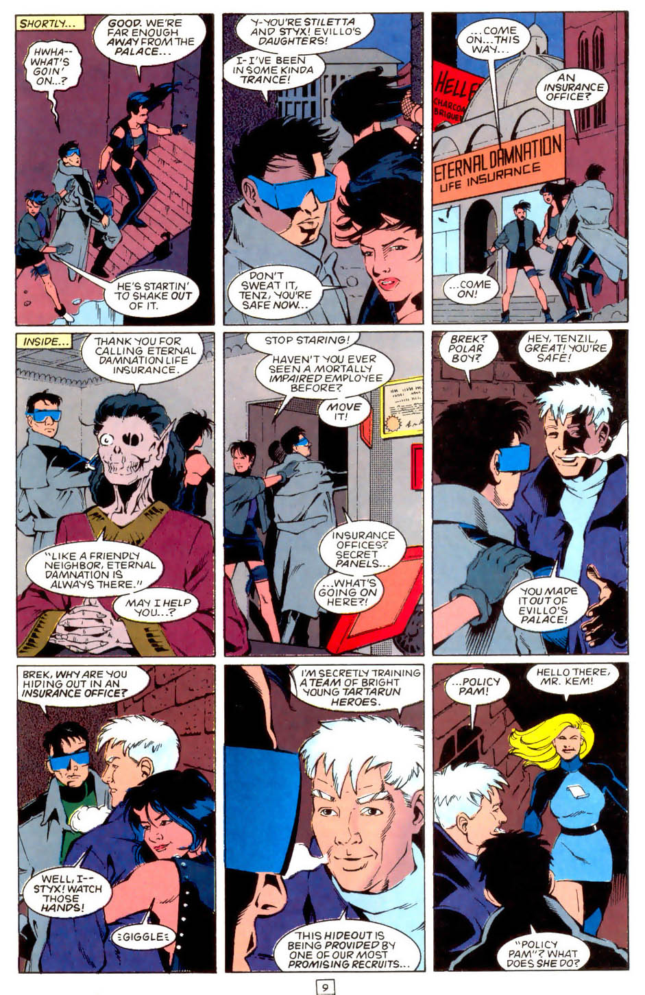 Legion of Super-Heroes (1989) 49 Page 9