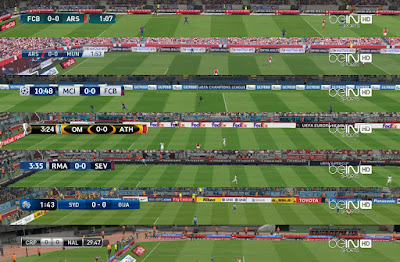 PES 2017 Default Scoreboards + TV Logo by Txak
