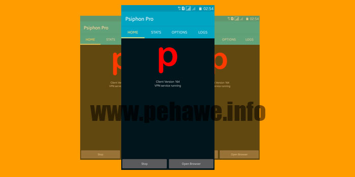 Psiphon Pro Build 164 Unlimited Speed Terbaru