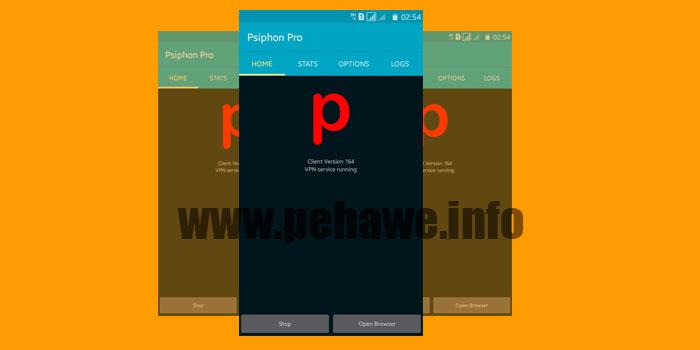 Psiphon Pro Build 164 Unlimited Speed Terbaru