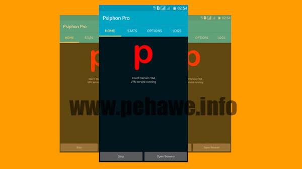 Psiphon Pro Build 170 Unlimited Speed Terbaru