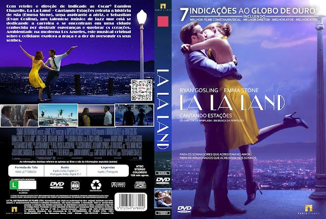 Capa DVD La La Land Cantando Estações [Custom]
