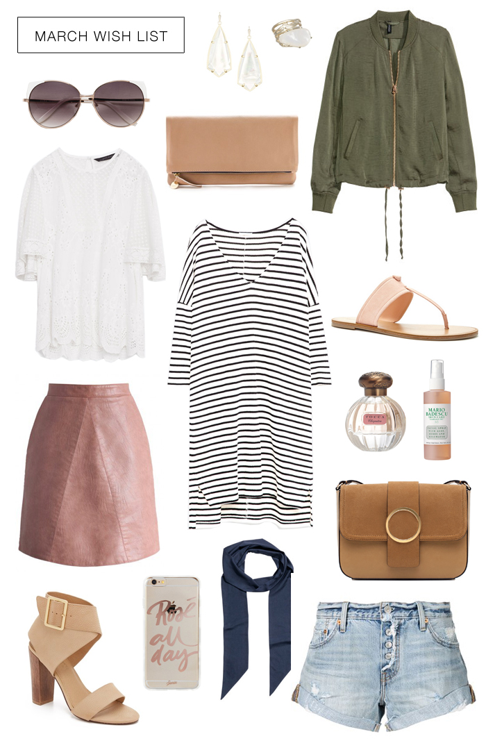 Spring trends & wish list