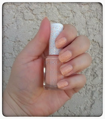 Collection Cupcake de Kiko : vernis Peach