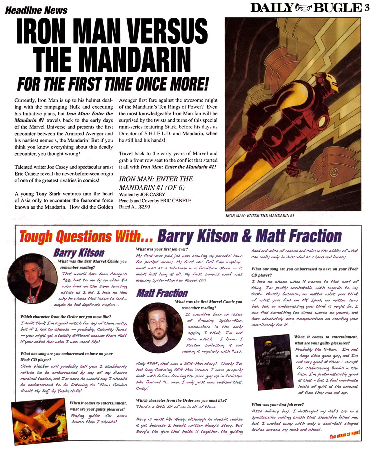 Read online Daily Bugle (2006) comic -  Issue #12 - 4