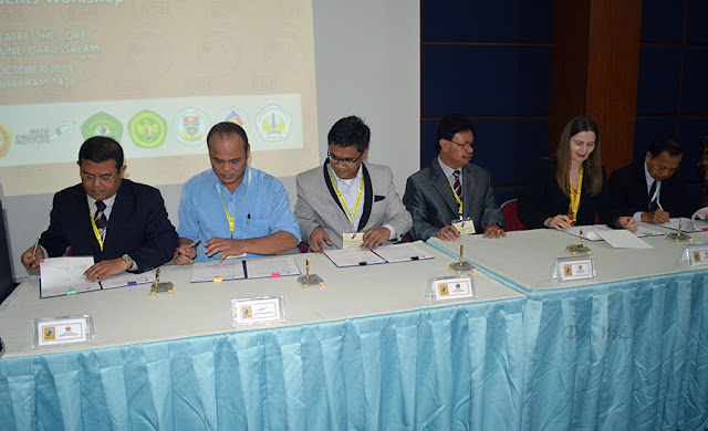 Wakil MEI Tandatangani Borneo Studies Network Carter