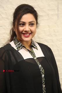 Tamil Actress Meena Latest Stills in Black Dress at TSR TV9 Awards Press Meet  0011.JPG