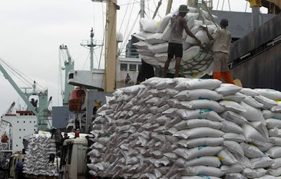 RICE IMPORTS REMAIN BANNED THROUGH THE LAND BORDERS