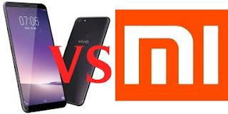 yang merupakan hape flagship dari Vivo smartphone Vivo V7+ dan Lawan dari Xiaomi