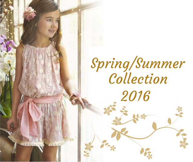 Pink Lace Sash Dress | Tartaleta | Spanish Kids Fashion