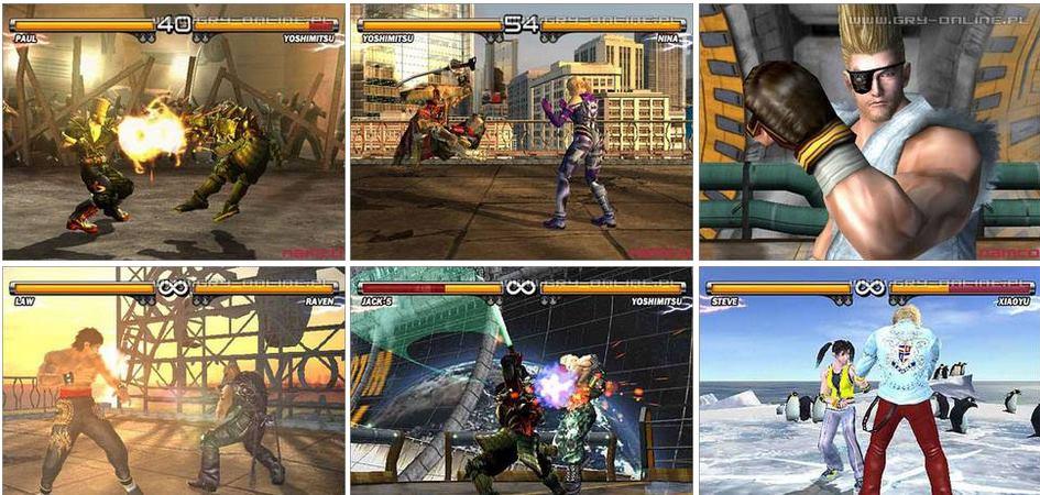 Tekken 5 PS2 Español ISO