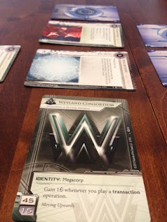 HQ with Ice from Android Netrunner game