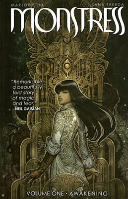Majorie M Liu, Monstress Volume 1: Awakening, Rus Wootan, Sana Takeda, Book Review, InToriLex