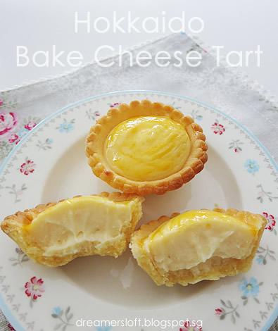 DreamersLoft Hokkaido Bake Cheese Tart