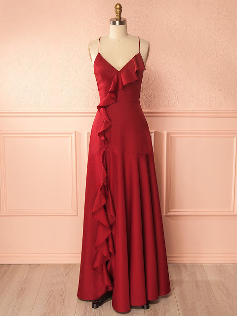 MillyBridal Wishlist: Red Dresses