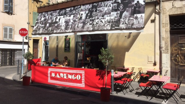 Bar Le Marengo em Marselha