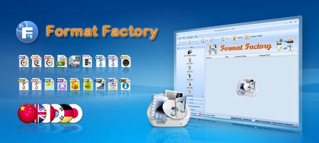 تحميل برنامج فورمات فاكتوري 2016 Format Factory لتحويل الصوت والفيديو