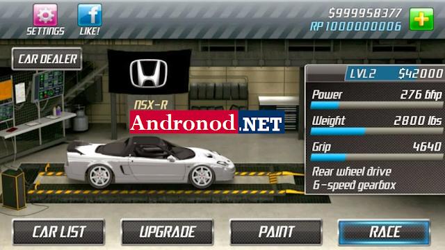 Nitro Nation Drag Racing v5.2.6 Mod Apk Data Terbaru
