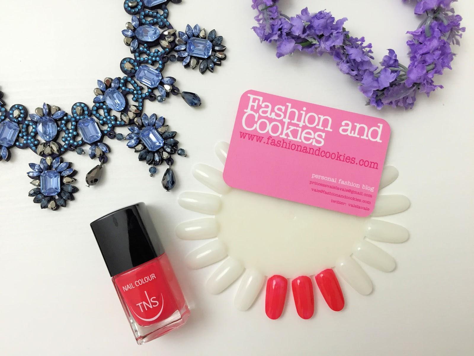 TNS Cosmetics Fashion Week nail polish on Fashion and Cookies beauty blogger, beauty blog