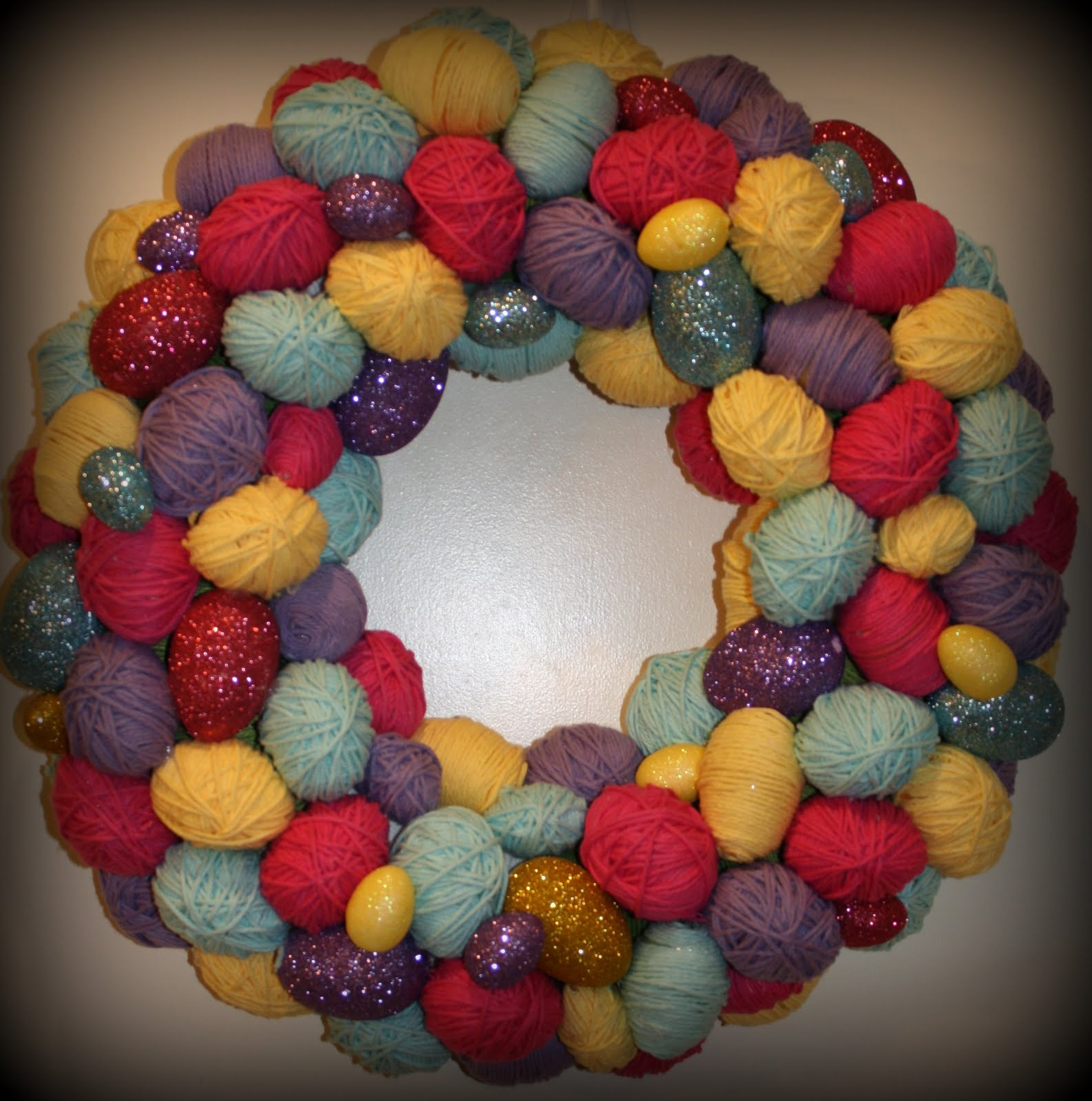 Wolfe Pack: Easter Wreath!