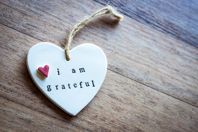 I'm grateful heart