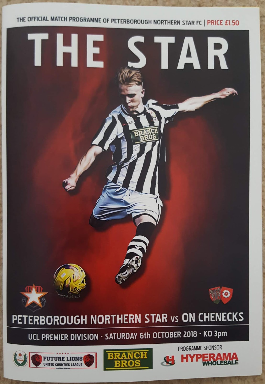 Many Games Have I Seen   : Peterborough Northern Star 2 v 6