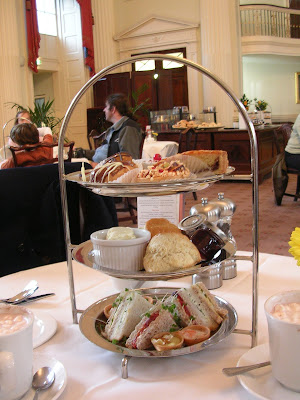 High Tea, Pump Room, Bath, England, tea sandwiches, scones