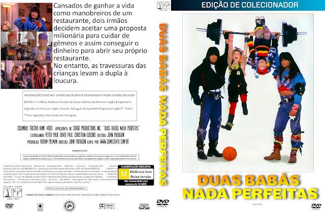 Capa DVD Duas Babás Nada Perfeitas [Coleção]