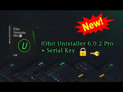 uninstaller iobit serial key
