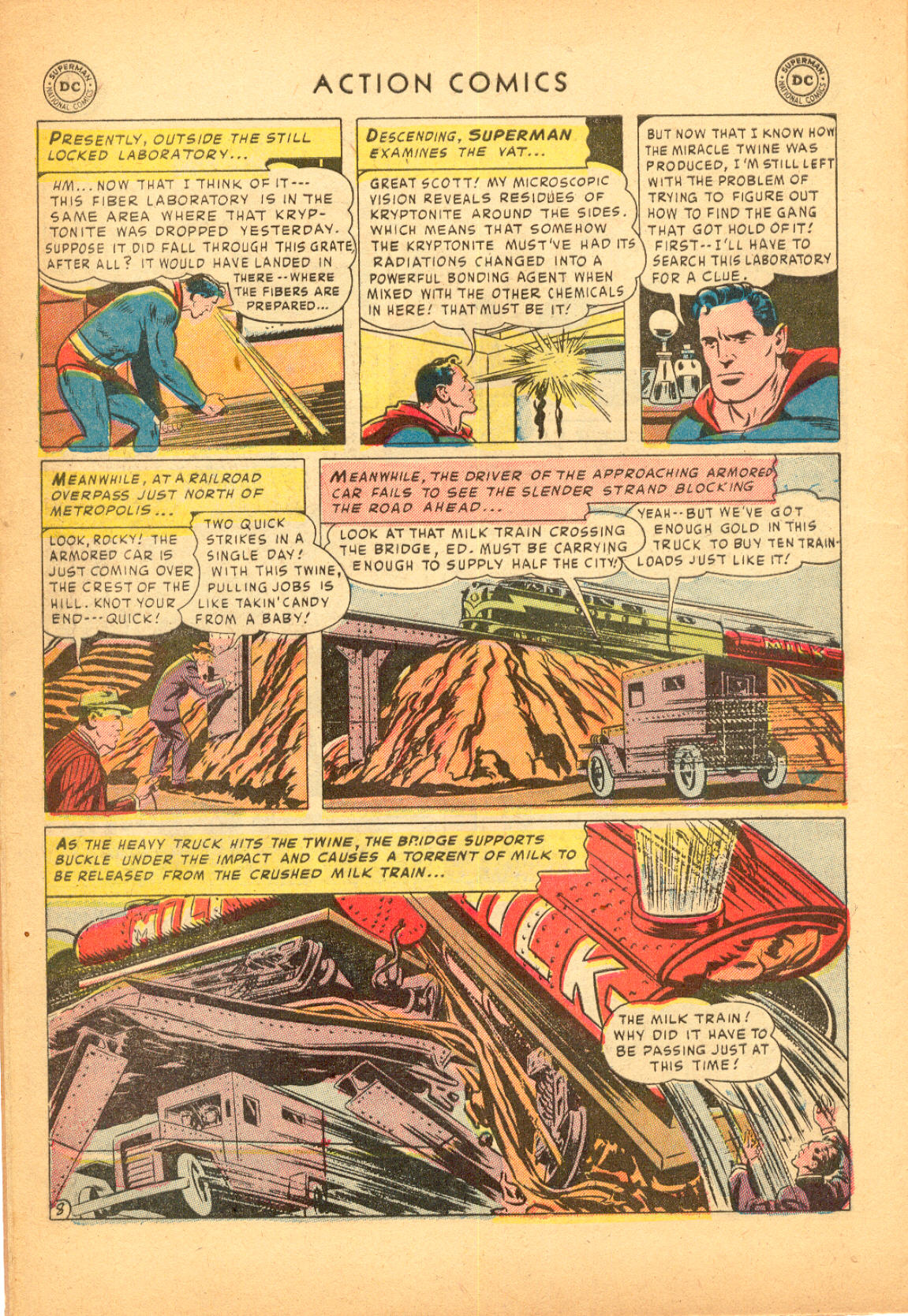 Read online Action Comics (1938) comic -  Issue #174 - 10