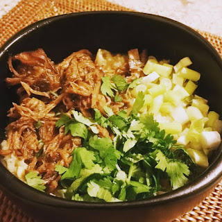 Asian-style Pulled Pork for Noodles, Rice, Congee, Ramen, Buns