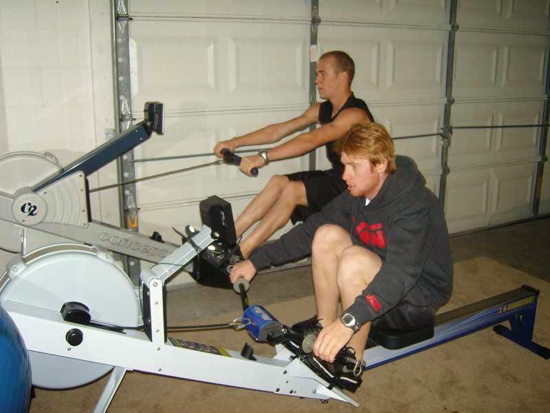 Preparazione atletica per il motocross di Ryan Villopoto e Blake Bagget