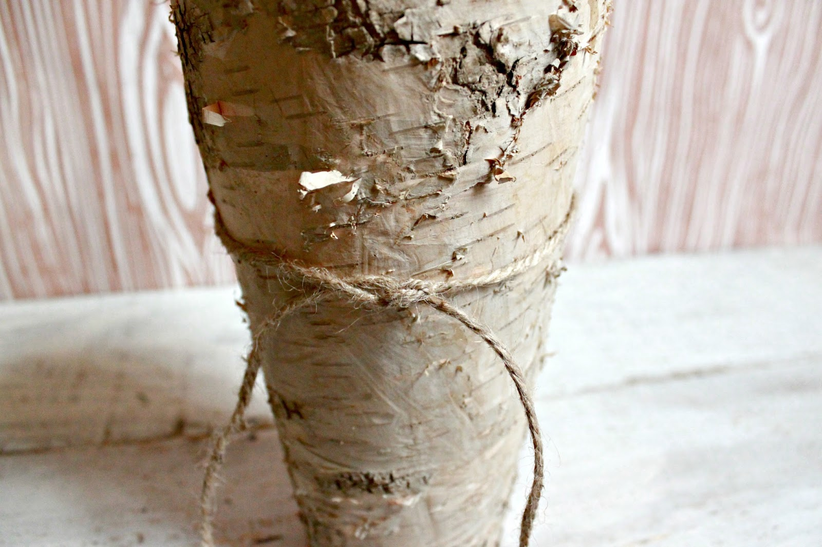 How To Bride Diy Birch Wood Vase Centerpiece
