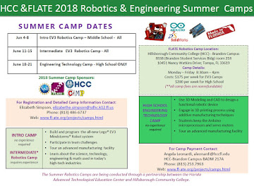FLATE 2018 Robotics & Engineering Camps