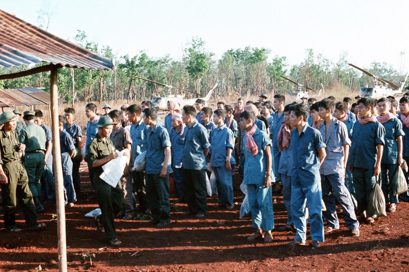 1973 Gia Lâm – TSN – Lộc Ninh-Trao trả tù binh chiến tranh